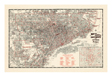 1943, Detroit, Michigan Giclee-trykk
