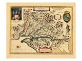 1633, Virginia Giclee-trykk