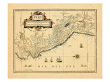 1658, Peru Giclee Print