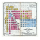 1900, Woonsocket, South Dakota, United States Giclee-trykk