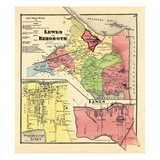 1868, Lewes And Rehoboth, Lewes, Delaware, United States Giclee-trykk