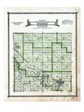 1919, Beemer Township, Wisner, Nebraska, United States Giclée-Druck