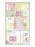1908, Fulda, Hadley, Lime Creek, Minnesota, United States Giclee-trykk