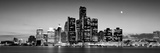 Buildings at the Waterfront, River Detroit, Detroit, Michigan, USA Fotografisk trykk av Panoramic Images,