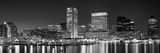 City at the Waterfront, Baltimore, Maryland, USA Premium fotografisk trykk