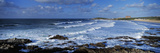 Waves in the Ocean, Fistral Beach, Cornwall, England Fotografisk tryk af Panoramic Images,