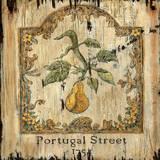 Pear Antique Store Vintage Wood Sign
