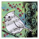 Chant d'oiseau Affiche par Beverly Dyer