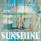 Sunshine– Ein Hauch von Sonnenschein Poster von Carol Robinson