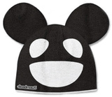 Beanie: Deadmau5 - Black/White Mouse Gorro