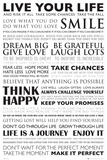 Live Your Life Posters