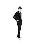 Male Fashion Figure, c. 1960 Giclee Print by Andy Warhol