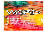 Word Pôsters por Taylor Greene