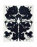 Rorschach 高品質プリント : アンディ・ウォーホル