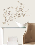 Silver Dollar Branch Add On Peel & Stick Wall Decals Vinilo decorativo
