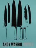 Knives, c. 1981-82 (Aqua) Plakat af Andy Warhol