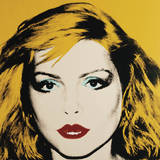 Debbie Harry, 1980 Posters av Andy Warhol