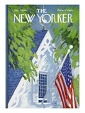 The New Yorker Cover - July 2, 1966 Premium Giclée-tryk af Arthur Getz