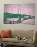 Golden Gate Bridge Poster by  NaxArt