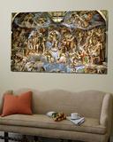 Sistine Chapel: the Last Judgement, 1538-41 Kunst von  Michelangelo Buonarroti
