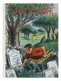 The New Yorker Cover - August 22, 1959 Reproduction giclée Premium par Jr., Whitney Darrow
