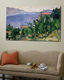 View of Mount Mareseilleveyre and the Isle of Maire, circa 1882-85 Prints by Paul Cézanne