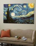La nuit étoilée, vers 1889 Affiches par Vincent van Gogh
