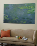 Waterlilies Prints by Claude Monet