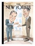 The New Yorker Cover - November 15, 2010 Reproduction procédé giclée par Barry Blitt
