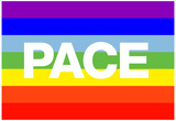 Pace Peace Flag Posters