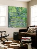 The Waterlily Pond: Green Harmony, 1899 Poster av Claude Monet
