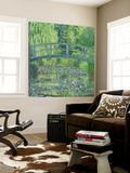 The Waterlily Pond: Green Harmony, 1899 Prints by Claude Monet