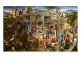 Passion of Christ Giclée-tryk af Hans Memling