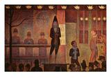 Circus Parade, 1887-8 Reproduction procédé giclée par Georges Seurat