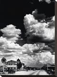Route 66, Arizona Bedruckte aufgespannte Leinwand