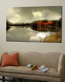 Autumn Lake Posters by Mia Friedrich