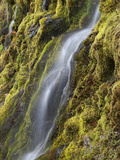 Cascading Water in Keene Valley Photographic Print by Michael Melford