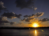 The Sun Setting over the Intracoastal Waterway