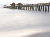 The Fishing Pier at Naples Beach Photographic Print by Raul Touzon