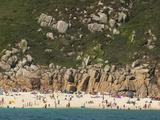A Cornish Beach on a Rare Sunny Day Photographic Print by Mauricio Handler