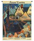 House & Garden June 1917 タペストリー : ポーター・ウッドラフ