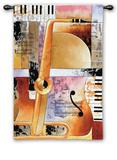 Jazz Medley II タペストリー : トム・Grijalva