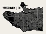 Vancouver Plakater af  Mr City Printing