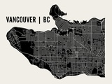 Vancouver Prints by  Mr City Printing