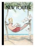 The New Yorker Cover - March 11, 2013 Impressão giclée premium por Barry Blitt