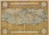 Mappa Del Mondo - Antique Style World Map Poster Poster