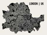 Londra  Poster di  Mr City Printing