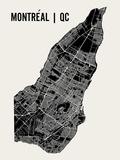 Montreal Poster von  Mr City Printing