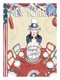 The New Yorker Cover - July 4, 2005 Reproduction procédé giclée par Barry Blitt