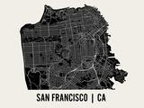 San Francisco Prints by  Mr City Printing